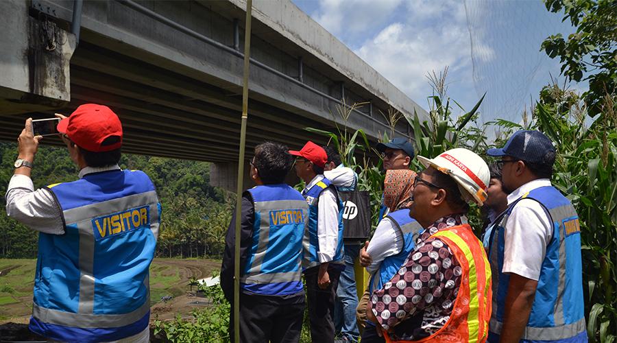 Monitoring Rutin Jembatan Jalan Tol Semarang - Solo