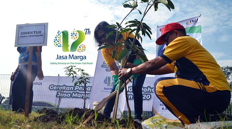 Gerakan Penanaman 42.000 Pohon