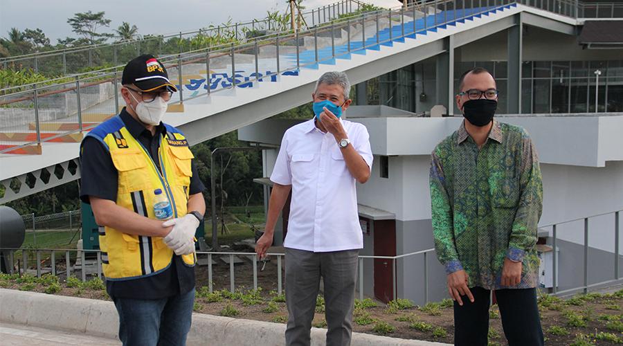 Kunjungan Kerja Kepala BPJT (Badan Pengatur Jalan Tol)
